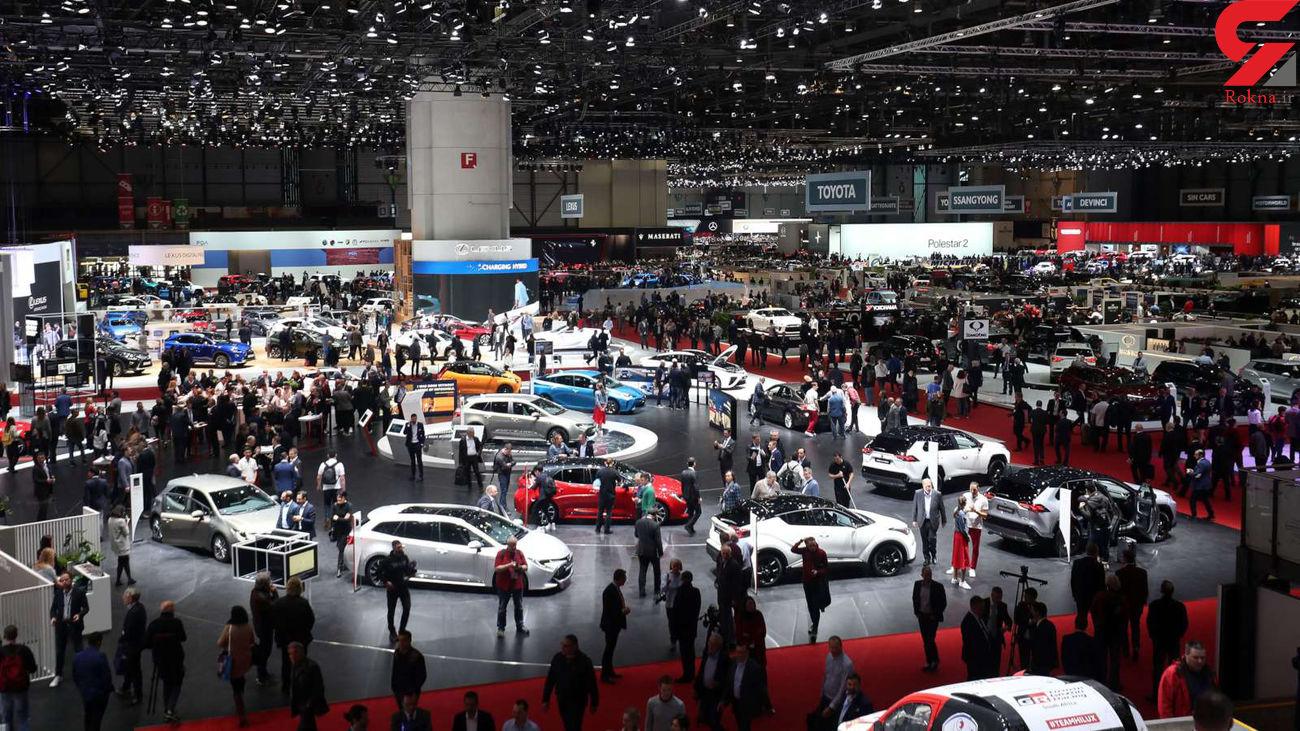 نمایشگاه خودروی ژنو لغو شد