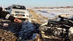 تصویر حادثه ای که 3 نفر را در فرمهین به کام مرگ کشاند+ عکس