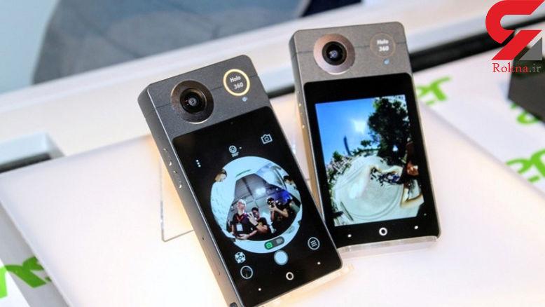 هولو 360، دوربینی زیبا، شیک، پرقدرت برای ثبت تصاویر 360 درجه و 4K