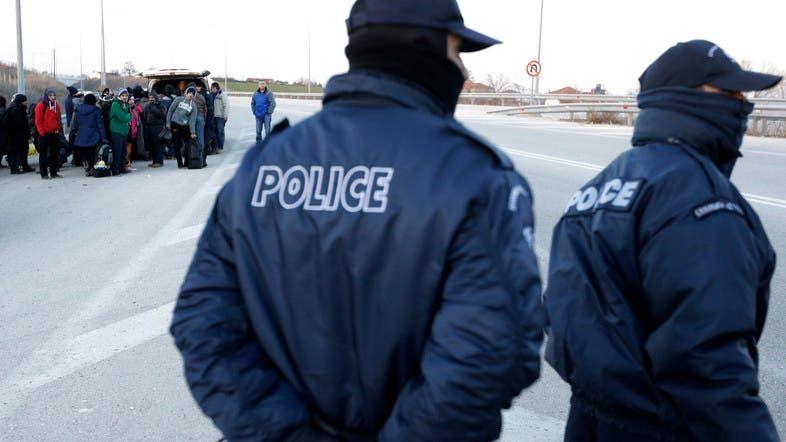 کشف کانتینر حامل مهاجران غیرقانونی در شمال یونان