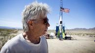 فیلم 16+/ سقوط مرگبار احمق ترین مرد دنیا که خود را موشک به آسمان فرستاد