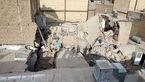 ریزش 2 خانه در مشهد / خطر مرگ از بیخ گوش صاحبخانه ها گذشت + عکس ها
