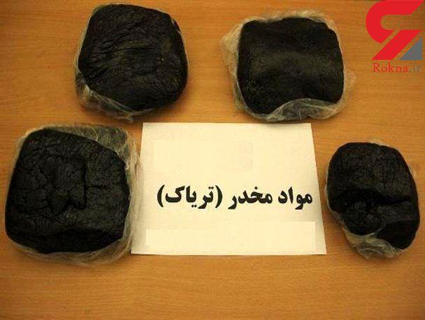 کشف ۱۷۰ کیلوگرم تریاک در آزادراه خرم زال / 5 متهم روانه زندان شدند