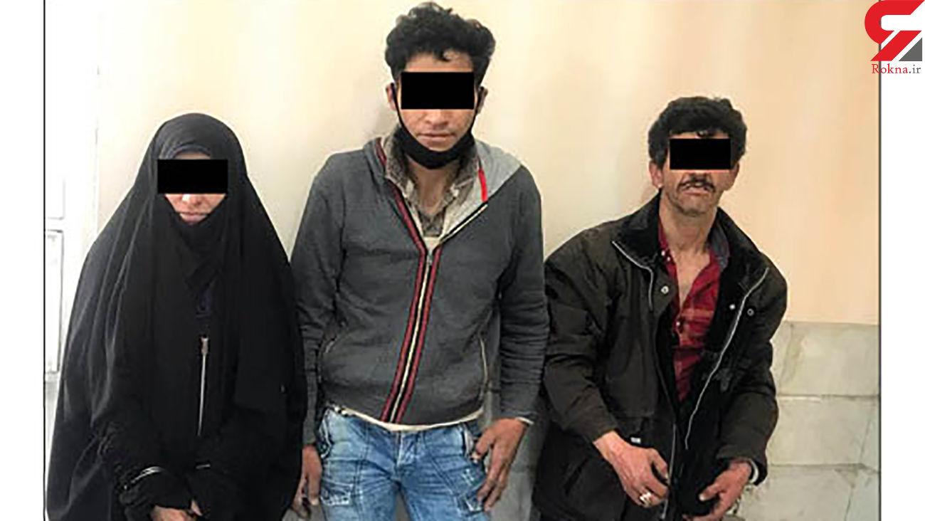 یک زن و 2 مرد گردانندگان باند سرخپوست خیابان های مشهد + عکس