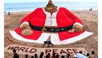 بزرگ ترین بابانوئل شنی دنیا +عکس