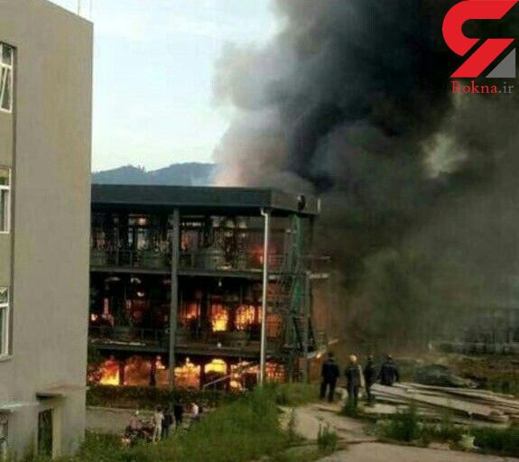 31 کشته و زخمی بر اثر انفجار در یک کارخانه شیمیایی در چین