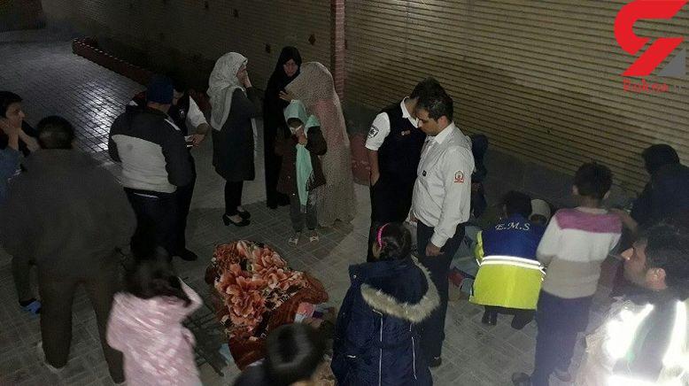 نجات معجزه آسا 2 مادر و 4 کودک از مرگ در یافت آباد / + عکس