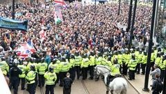 تظاهرات ضد نژاد پرستی در لندن + عکس