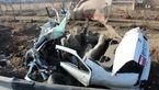 مرگ تلخ 2کودک در واژگونی خودروی پدر