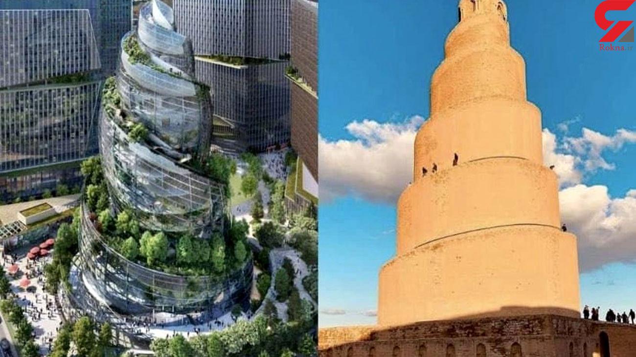 ساخت برج مارپیچی در راه است + عکس