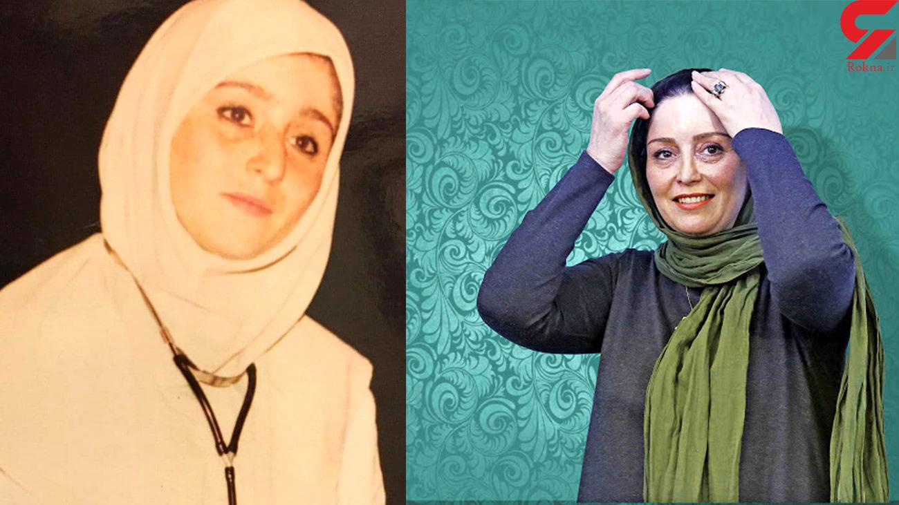 چهره باورنکردنی از ژاله صامتی در جوانی + عکس