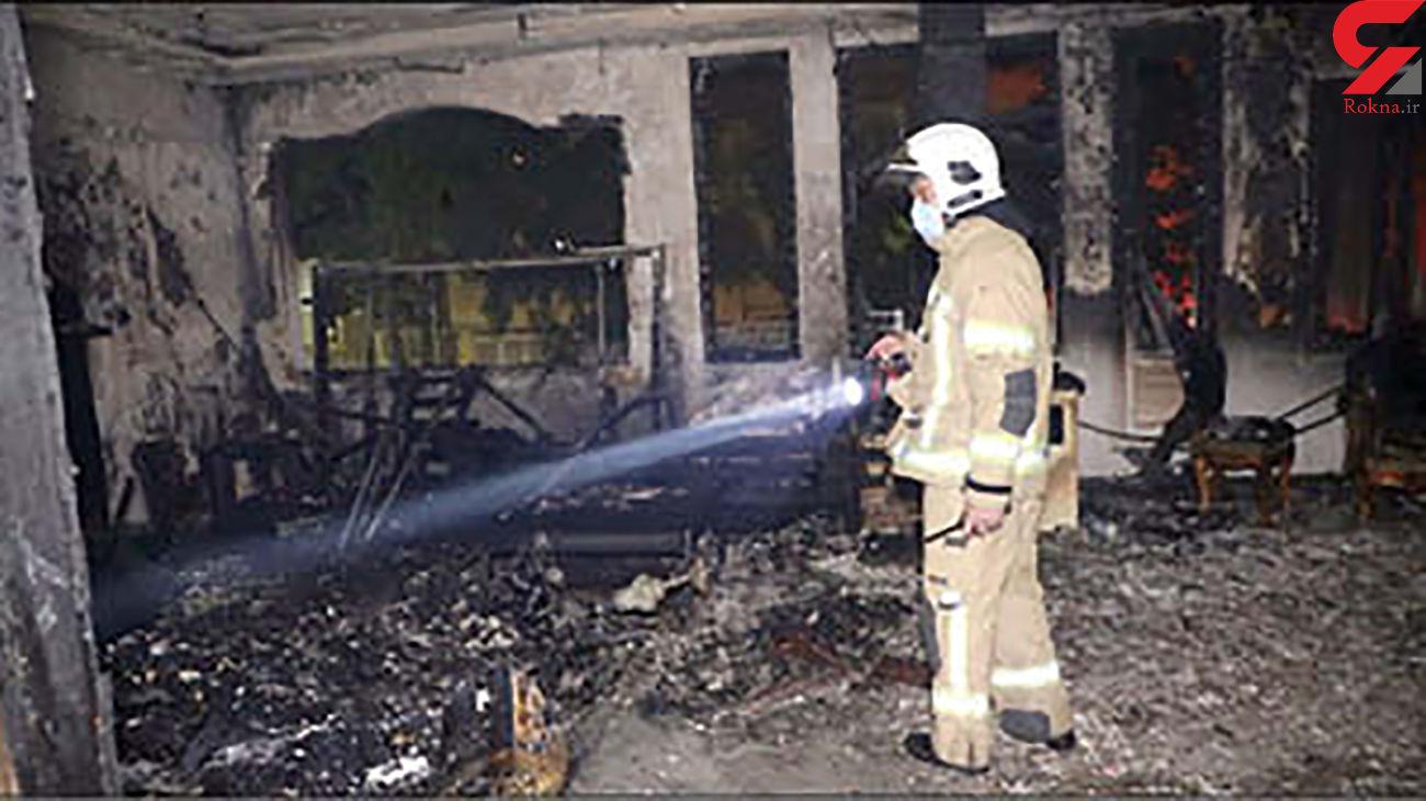 جزئیات آتش سوزی مرگبار در مشهد / کودک در شعله های سیاه جان باخت + عکس