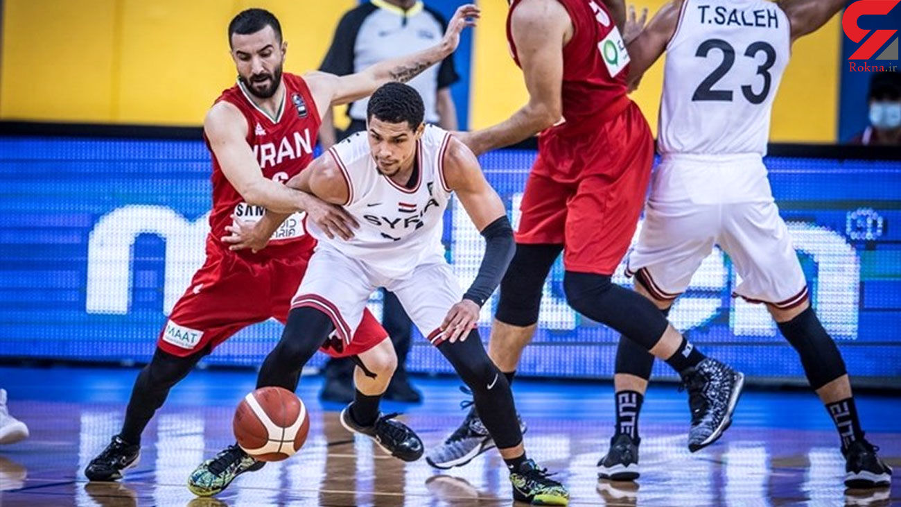 Iran Loses to Syria at FIBA Asia Cup Qualifiers