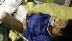 فیلم و عکس دهنده از حادثه کودک آزاری در مهاباد/ والدین معتاد؛ متهمان اصلی
