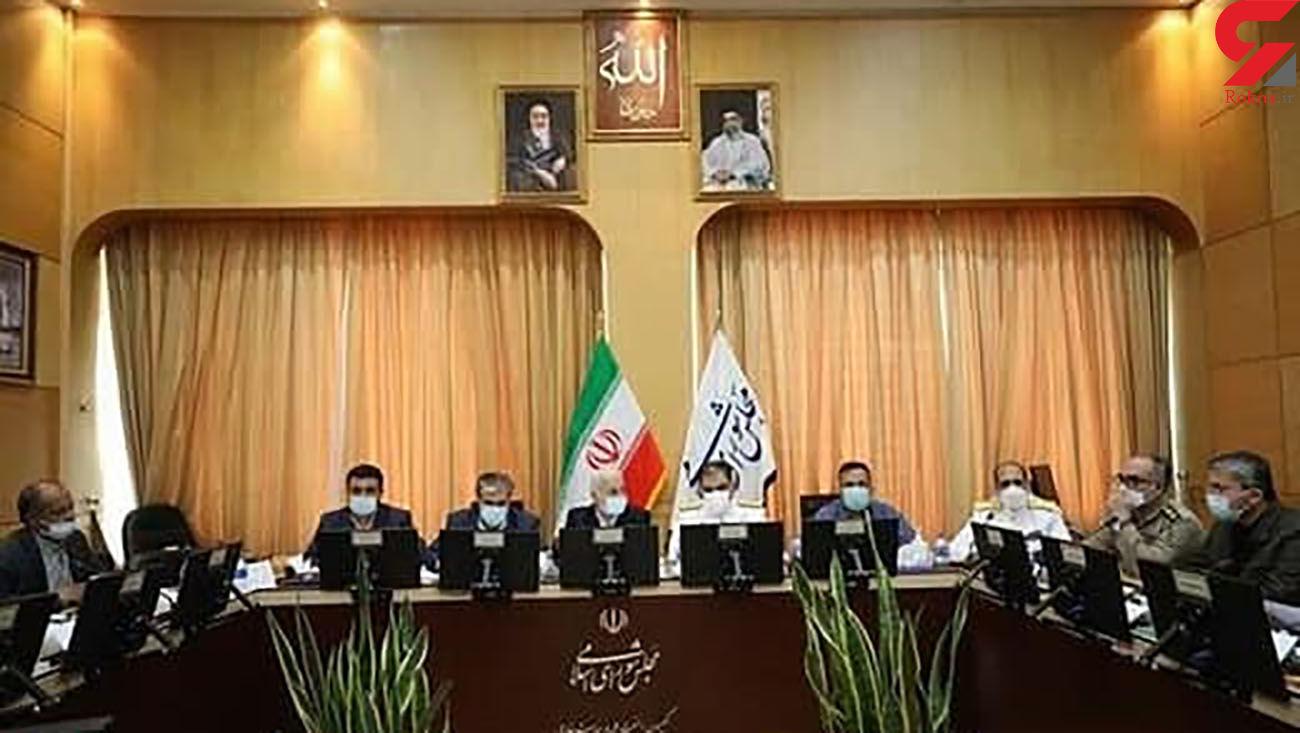 حضور امیر ایرانی و سردار صفری در کمیسیون امنیت ملی مجلس