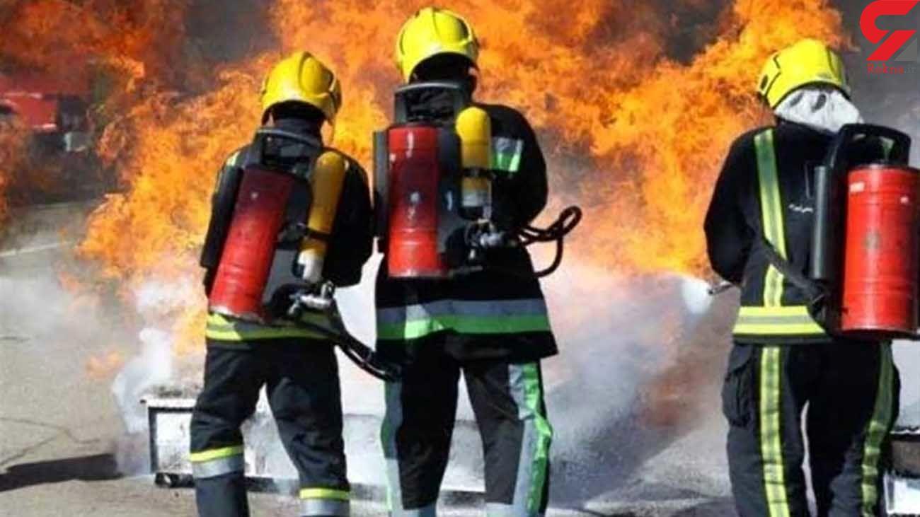 انجام 16 عملیات آتش نشانی و نجات جان 5 نفر در همدان