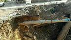 دیواره ساحلی پلدختر تخریب شد؛ سیلاب بخشی از شهر را تهدید میکند+تصویر