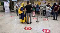 پروتکل های سختگیرانه کرونا در فرودگاه های تهران