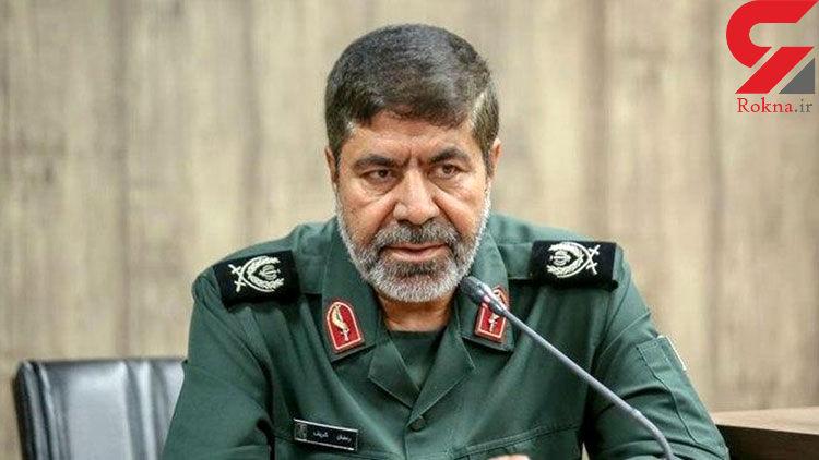 سردار شریف: تمام بخش های سپاه اماده مقابله با ویروس کرونا هستند