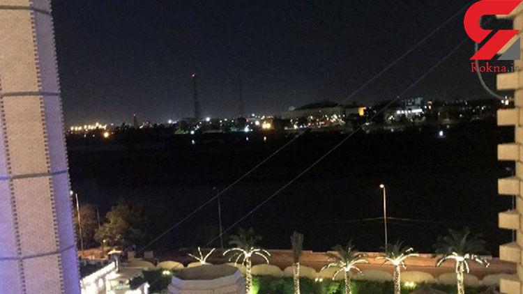 اصابت راکت به منطقه سبز بغداد سحرگاه امروز جمعه