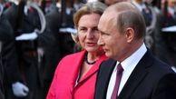 پوتین در مراسم ازدواج وزیر خارجه اتریش شرکت میکند