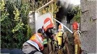 مرگ یک ساروی در حادثه آتش سوزی منزل