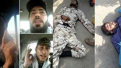 شغل تروریست های اهواز چه بود؟ + عکس در لباس بسیج و سپاه