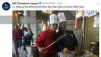 هواداران پرسپولیس در حال پخت کباب در ژاپن +عکس