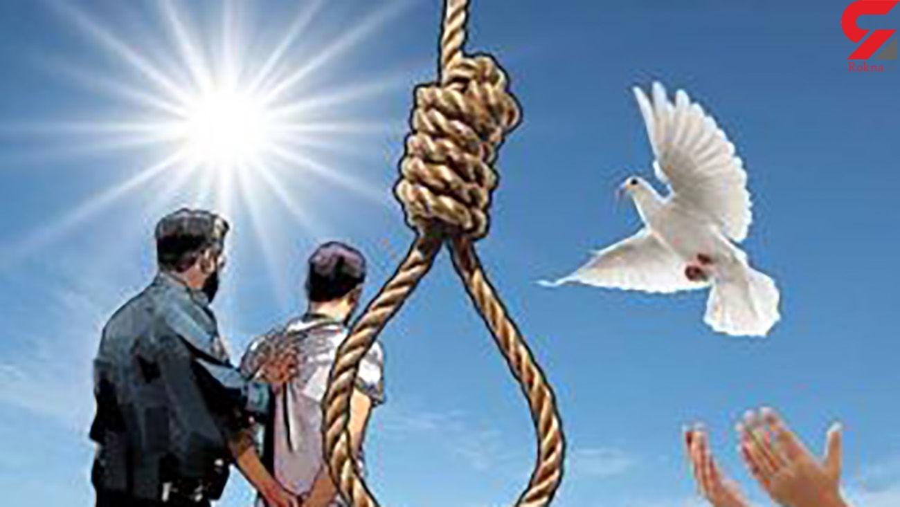 پاره شدن طناب دار قاتل در زندان آبادان