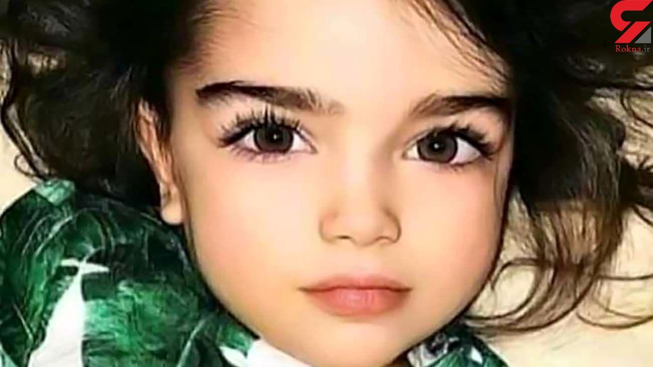 دختر 3 ساله زیبارو در غزه شهید شد + عکس