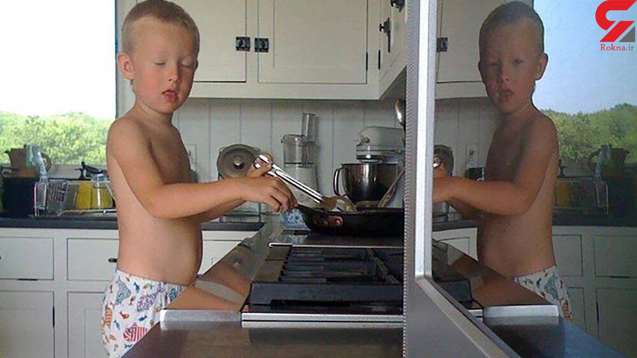 جنجال عکس یک پسربچه در فضای مجازی/عکاس به روح اعتقاد ندارد ! / آمریکا