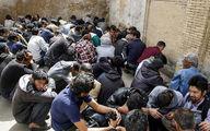 قلع و قمع 130 پاتوق معتادان متجاهر در کرج