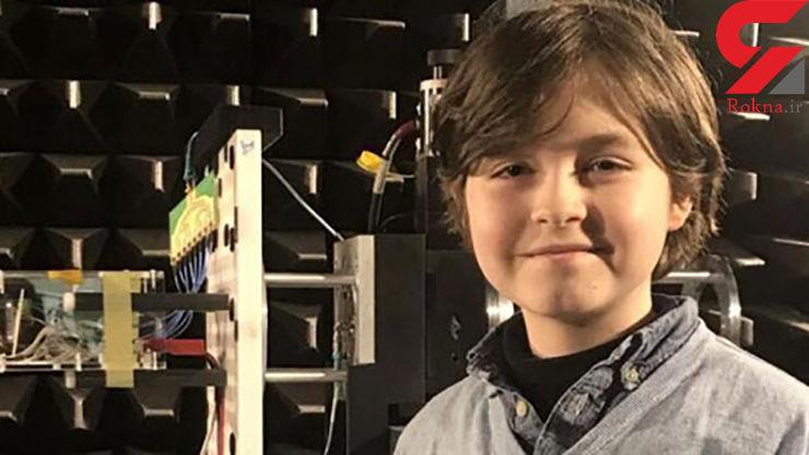 پسربچه ۹ ساله ایرانی جوانترین دانشجوی پزشکی جهان