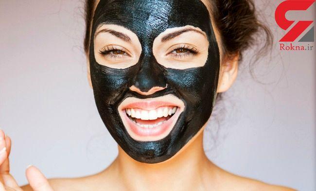 ماسک سیاه برای مقابله با جوش های سر سیاه