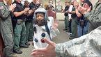 زیدان کودک سرطانی موفق شد تا سفر به فضا را تجربه کند + عکس