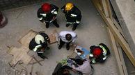 عکس جنازه مرد مراغه ای پای داربست ! / سرنوشتی دردناک