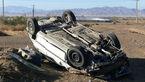 واژگونی مرگبار پژو 405 در جاده روستایی