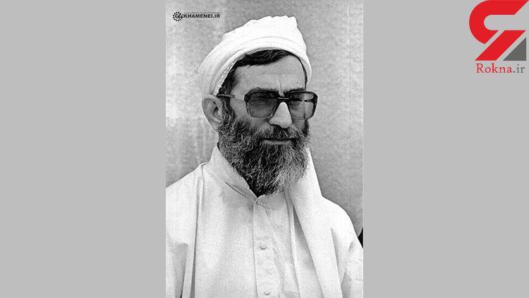 تصویری کمتر دیده شده از آیتالله خامنهای در لباس سیستان و بلوچستانی + عکس