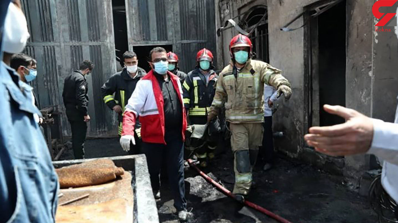 صفر تا صد زنده زنده سوختن 6 زن و مرد کارگر در جاجرود + عکس و فیلم