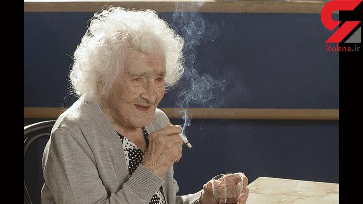 رازهای عجیب یک زن 122 ساله / او 97 سال سیگار می کشید!+عکس