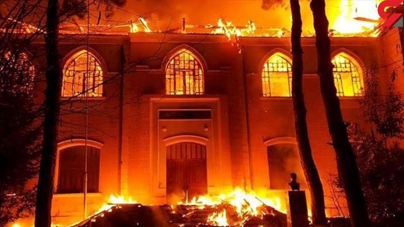 زنده زنده سوختن مرد سنندجی در آتش خانه اش