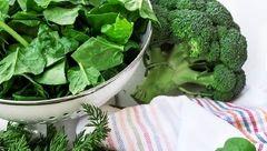 پیشگیری از سکته مغزی با سبزیجات رنگی