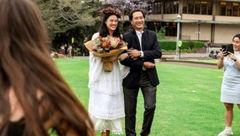 این دختر عجیب ترین ازدواج را رقم زد +تصاویر