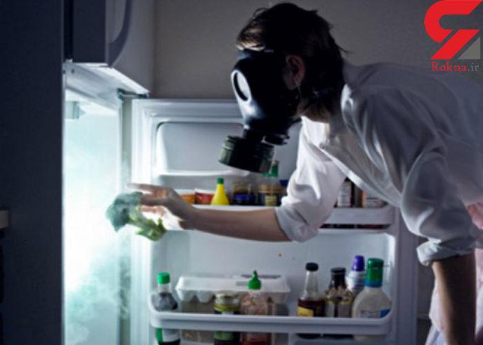نکات ریز خانه داری؛از بین بردن بوی بد یخچال