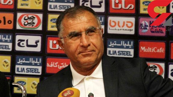 جلالی: بازی خوبی نکردیم و حریف هم احترامی به ما نگذاشت