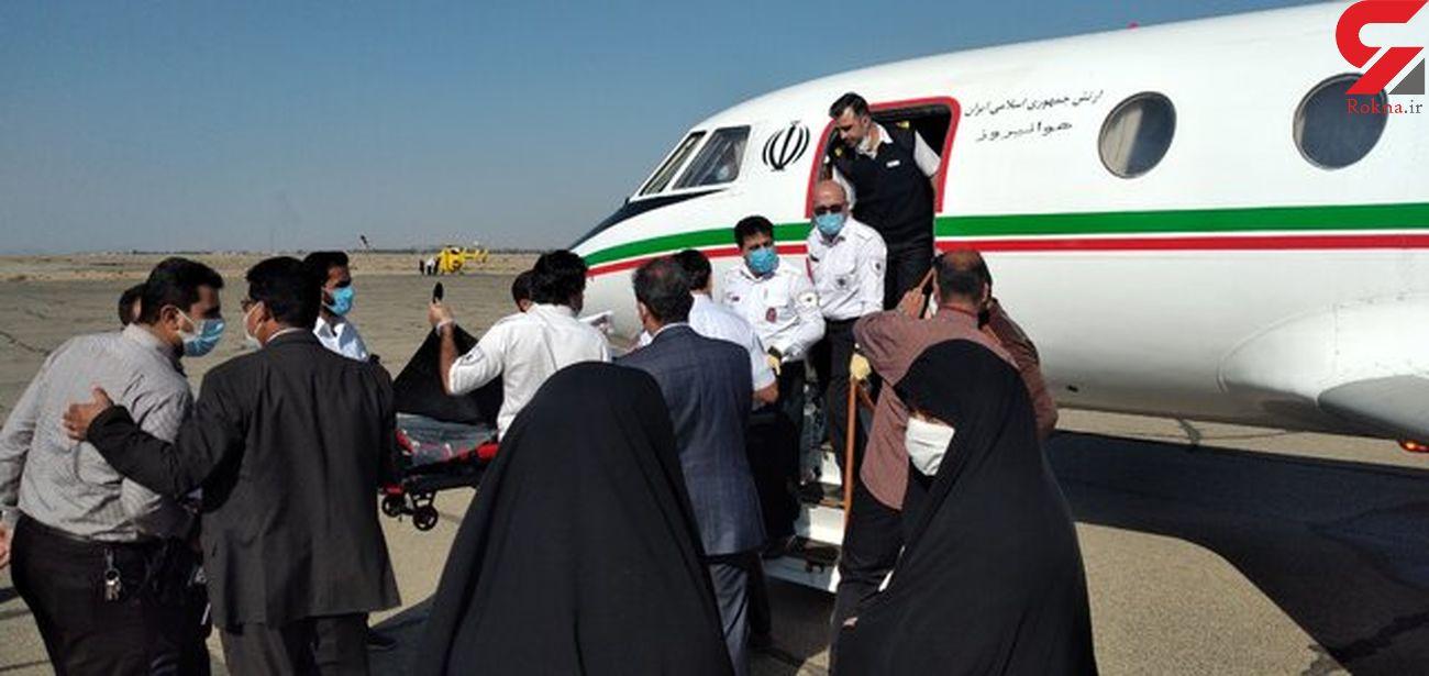 عکس / اورژانس هوایی زنجان برای زن 40 ساله به پرواز درآمد  + حزئیات
