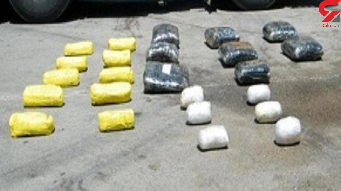 کشف 885 کیلو انواع مواد مخدر در کردستان