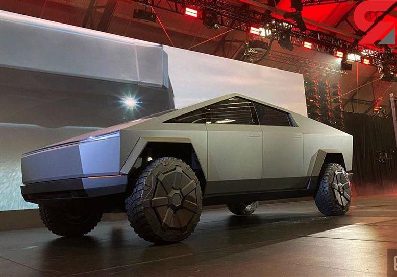 تسلا خودروی تازهاش را با ظاهری متفاوت رونمایی کرد +عکس