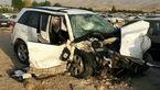 بی احتیاطی راننده سوزوکی در جاده فیروز آباد 5 کشته به جا گذاشت + عکس