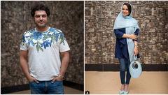 تیپ و لباس های عجیب و غریب خانم و آقای بازیگر ایرانی +عکس